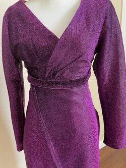 Purple Size 8 Cocktail Dress on Queenly