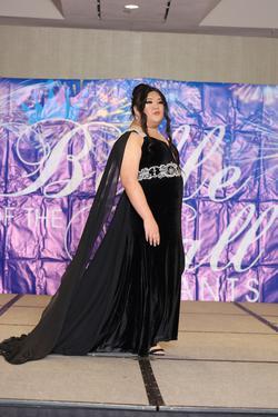 Custom Black Size 22 Plus Size Train Dress on Queenly