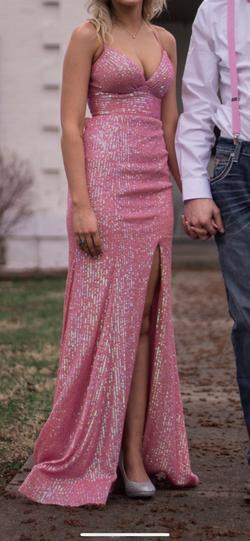 Sherri Hill Pink Size 00 A-line Dress on Queenly