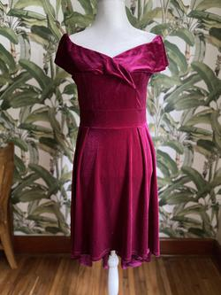 Red Size 16 Cocktail Dress on Queenly