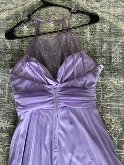 Purple Size 14 Straight Dress on Queenly