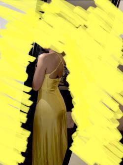 Yellow Size 2 Side slit Dress on Queenly