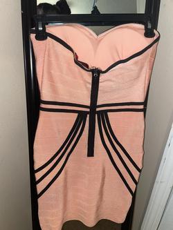 Orange Size 0 Straight Dress on Queenly