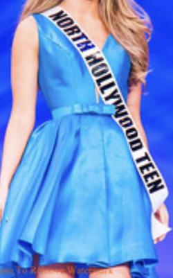 Sherri Hill Blue Size 00 Homecoming Sorority Formal Plunge Cocktail Dress on Queenly