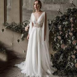 D&V White Size 12 Dandv V Neck Sheer Tulle A-line Dress on Queenly