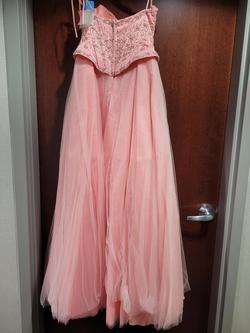 Style  HB1022 Xcite Prom Pink Size 6 Mini A-line Dress on Queenly