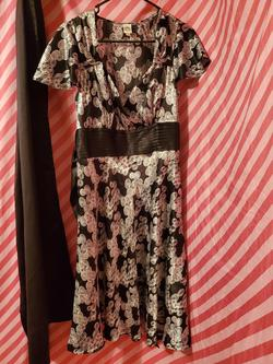 Sangria Multicolor Size 14 Pageant Wedding Guest Belt A-line Dress on Queenly