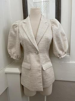 White Size 8 Jumpsuit Dress on Queenly