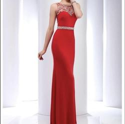 Clarisse Red Size 2 Cocktail Dress on Queenly