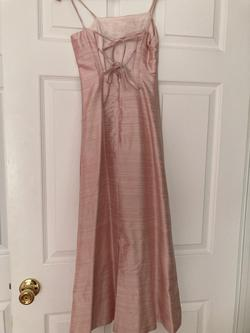 Neiman marcus Light Pink Size 0 Spaghetti Strap Straight Dress on Queenly