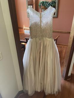 Nude Size 20 Ball gown on Queenly