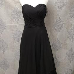Black Size 14 A-line Dress on Queenly