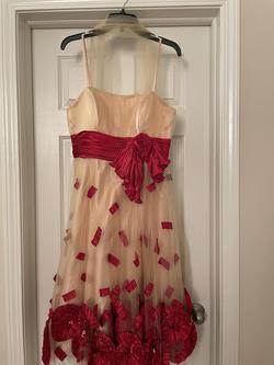 Gold Size 14 A-line Dress on Queenly