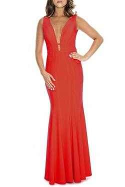 Decode  Red Size 8 Straight Dress on Queenly