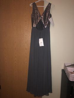 Silver Size 10 Ball gown on Queenly