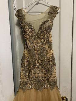 Camille La Vie Nude Size 8 Mermaid Dress on Queenly