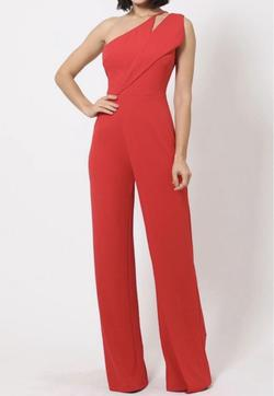 Red Size 0 Romper/Jumpsuit Dress on Queenly