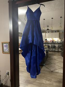B. Darlin Royal Blue Size 0 Straight Dress on Queenly