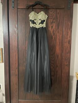 Ba Nites Black Size 0 Ball gown on Queenly