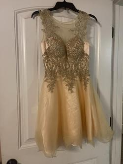 Nude Size 2 A-line Dress on Queenly