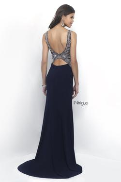 Style 264 Blush Prom  Blue Size 8 Prom Sequin Straight Dress on Queenly