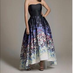 Style A19128 Betsy & Adam  Black Size 4 Betsy And Adam  Ball gown on Queenly