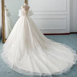 D&V White Size 12 Plus Size Dandv Ball gown on Queenly