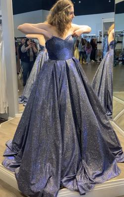 Sherri Hill Multicolor Size 16 Prom Pockets Ball gown on Queenly