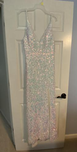 Marc Defang White Size 10 Straight Dress on Queenly
