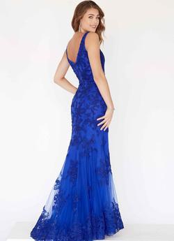 Jolene  Blue Size 6 Straight Dress on Queenly