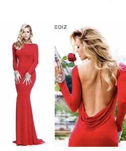 Tarik Ediz Black Size 4 Straight Dress on Queenly