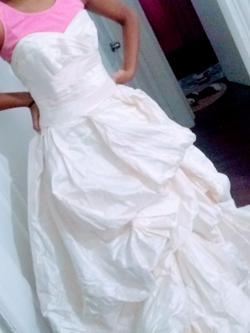 Nude Size 6 Ball gown on Queenly