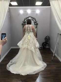 Allure Bridal White Size 12 Ball gown on Queenly