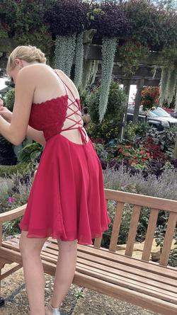 Alyce Paris Red Size 6 Corset A-line Dress on Queenly