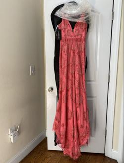 Sherri Hill Pink Size 4 Prom Pageant Straight Dress on Queenly