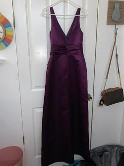 Belsoie Purple Size 4 A-line Dress on Queenly