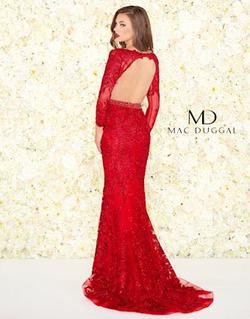 Mac Duggal Red Size 6 Straight Dress on Queenly