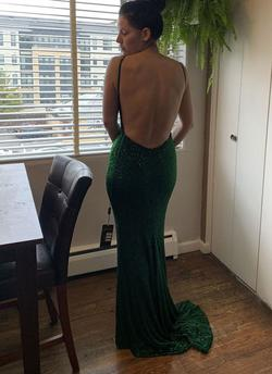 Johnathan Kayne Green Size 4 Custom Mermaid Dress on Queenly