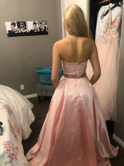 Sheri Hill Light Pink Size 00 Pageant Ball gown on Queenly