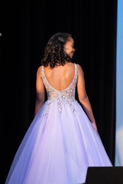 Jovani Purple Size 00 Ball gown on Queenly