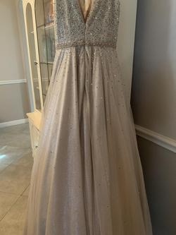 Jovani Gold Size 0 Ball gown on Queenly