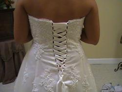 Davids Bridal White Size 24 Ball gown on Queenly