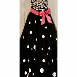Jovani Black Size 0 Girls Size Ball gown on Queenly