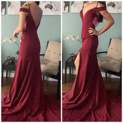 Jovani Red Size 2 Prom Pageant Mermaid Dress on Queenly