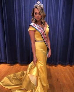 Fernando Wong Yellow Size 4 Pageant Mermaid Dress on Queenly