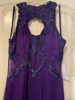 Purple Size 12 Straight Dress on Queenly