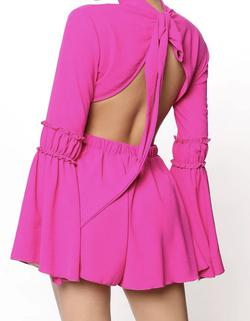 Pink Size 4 Jumpsuit Dress on Queenly