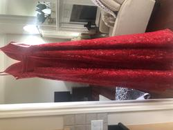 Sherri Hill Red Size 4 Prom Ball gown on Queenly