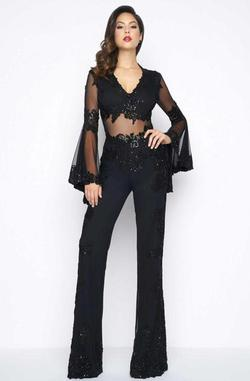 Mac Duggal Black Size 0 Jumpsuit Dress on Queenly