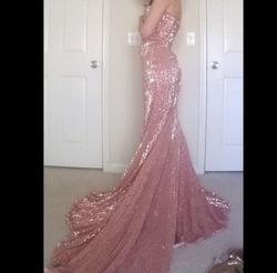 Portia & Scarlett Pink Size 00 Strapless Mermaid Dress on Queenly
